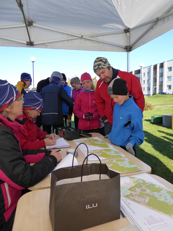 Sauelane liikuma 2015 orienteerumine