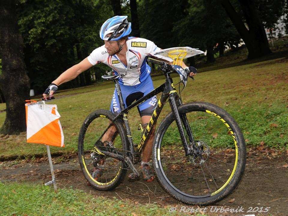 Lauri Malsroos rattaorienteerumise maailmameistrivõistlustel 2015